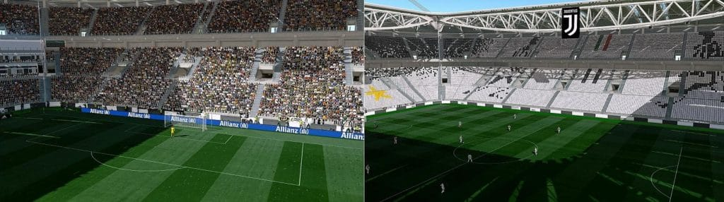 PES 2020 - Serie A Stadiums Converted From PES 2019