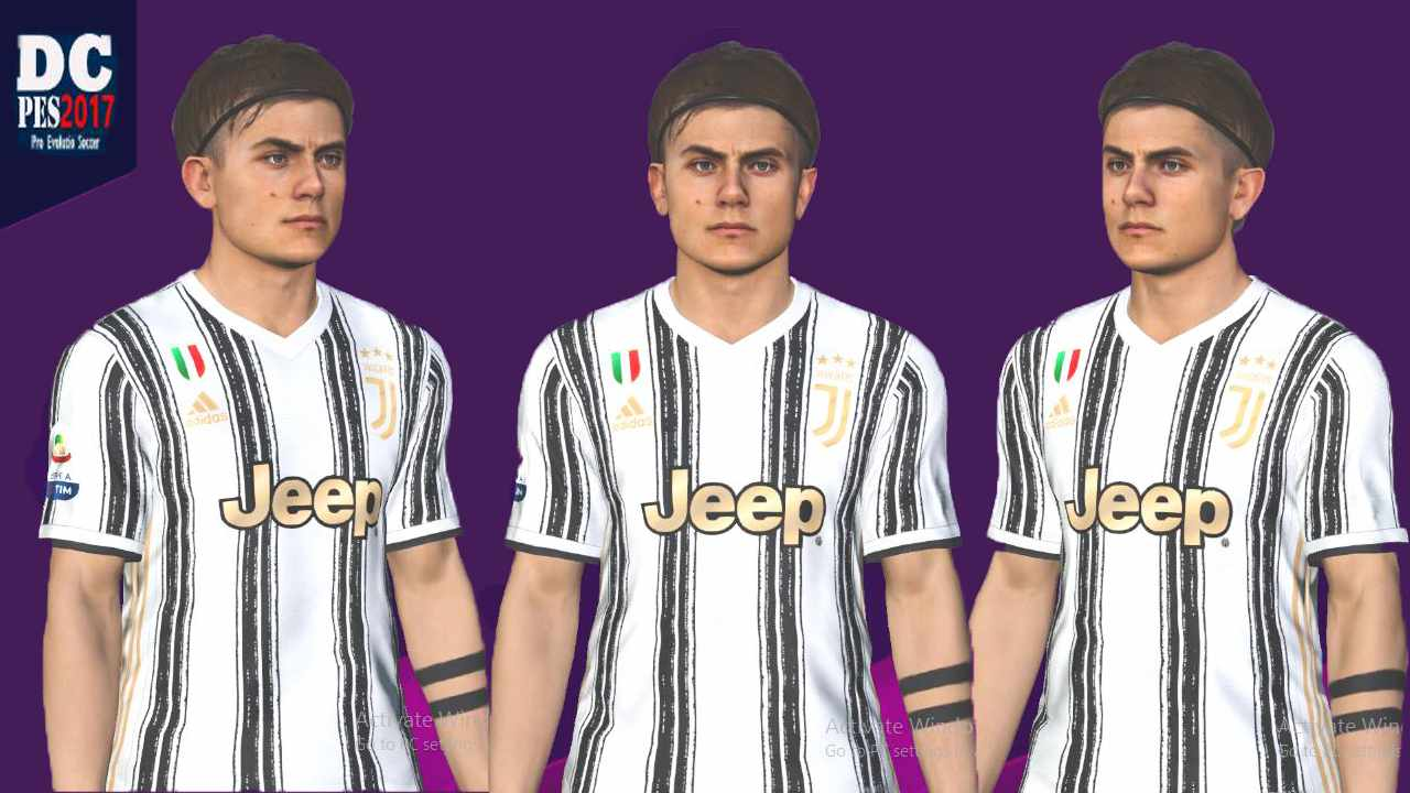 Pes 17 Dybala New Hairstyle And Tattoos 2020 Download Free Mods